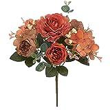 NIDONE Novia Ramo de Flores Artificiales de Novia de Seda Ramo de peonía hogar Sala de Estar de la decoración de la decoración para el otoño