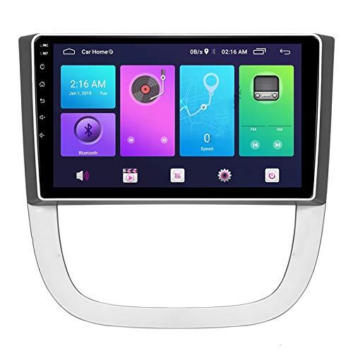 Nav Android 10.0 Car Stereo Double DIN para Buick GL8 2006-2012 Navegación GPS Unidad Principal de 9 Pulgadas Reproductor Multimedia MP5 Receptor de Video y Radio con 4G WiFi DSP Carplay