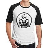 GONGQI Men Jay Cutler Funny Printing with Short Shirt T Shirts Black