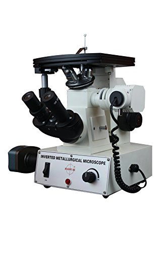 Radical 40-600X invertiertes Metallurgisches Metallographie-Material Wissenschaft reflektiertes Licht Mikroskop mit 3 MP Kamera und Messsoftware