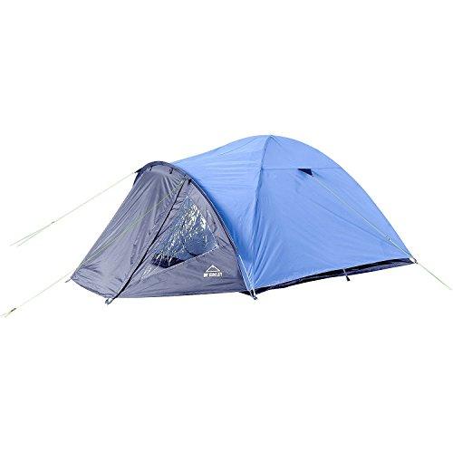 McKinley Campingzelt AVIOLO 4 - für 4 Personen blau / grau