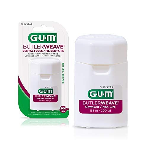 GUM Butler Weave Unwaxed 200 yrds