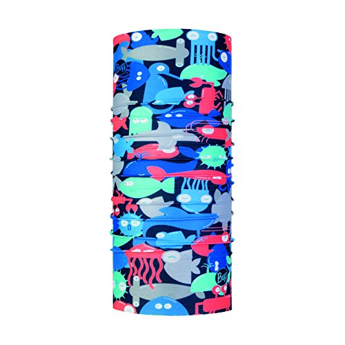 Buff Kinder Coolnet Uv+ Multifunktionstuch, Shoal Blue, One Size