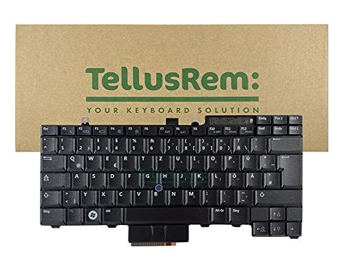 Teclado de respuesto Alemán sin retroiluminación para DELL Latitude E6400, Latitude E6410, Latitude E6500, Latitude E6510