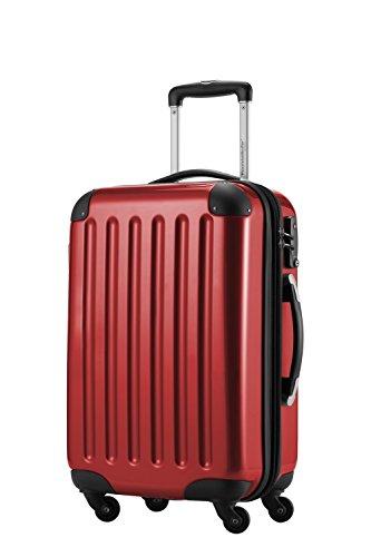 Capitale valigetta Alex 42litri con lucchetto a combinazione in 18diversi colori con valigetta ciondolo in nero nero Rot 42 Litri