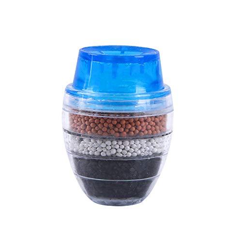 Filtro de agua del grifo, Grifo de agua de carbón activado, El hogar Mini purificador de grifo de cocina, Cartucho de filtro purificador de limpieza para el hogar o la cocina.