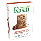 Kashi, Breakfast Cereal, Cinnamon Harvest, Organic, Vegan, 16.3oz Box