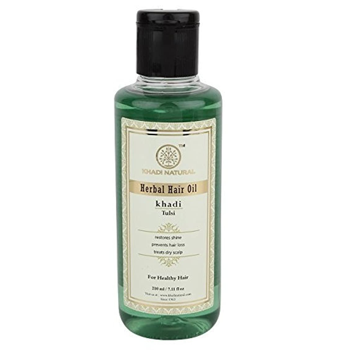 Khadi Tulsi Oil, 210ml