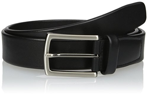 Perry Ellis Mens Tubular Belt, Black, 40