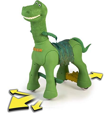 FEBER- My Friendly Dino 12 V, Mascota electrónica y vehículo a batería con Forma de Dinosaurio, con Sonidos, Color (Famosa 800012630)