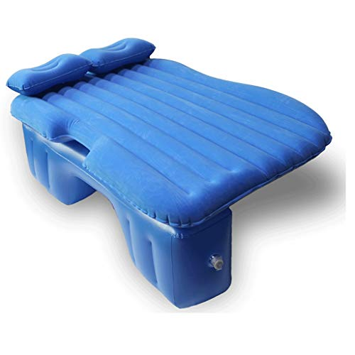 MMAXZ Air Mattress with Built-in Pump - Best Inflatable Airbed Queen Size - Elevated Raised Air Mattress (Color : Q)