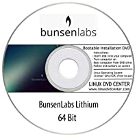 """BunsenLabs Linux """"Lithium"""" (64Bit) - Bootable Linux Installation DVD"""
