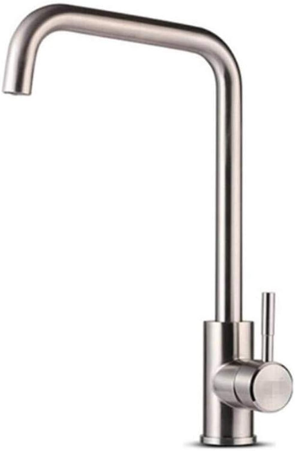 Taps Kitchen Sinktaps Mixer Swivel Faucet Sink Kitchen Faucet Cold and Hot Faucet 304 Stainless
