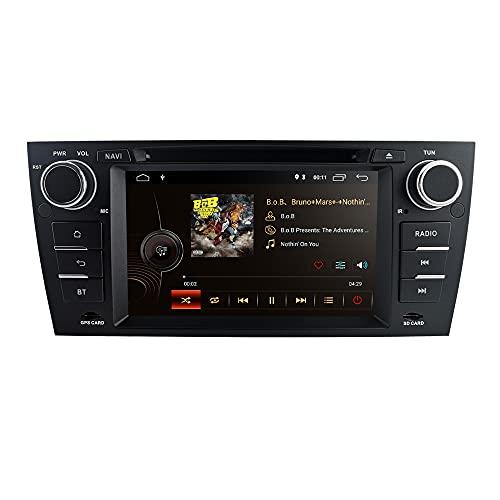 Android 10 7 Pollici 2 + 16 GB Navigatore GPS Auto Stereo Compatibile Con BMW Serie 3 E90 / E91 / E92 / E93 2006-2012 Support Radio Bluetooth 4.0 USB SD WIFI CANBUS Copertura Climatizzazione