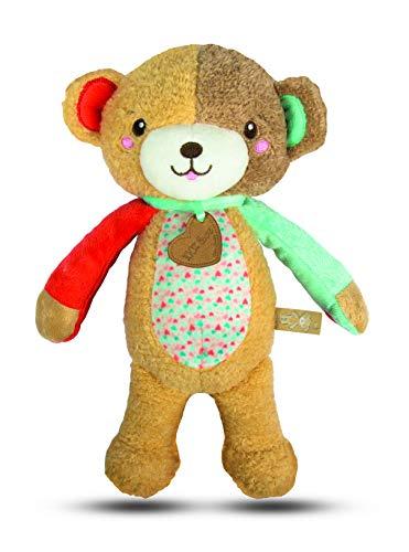 Clementoni Peluche d'activités Ourson-Love Me Bear-Jouet bébé, 0 Mois et Plus, 17267, Multicolore