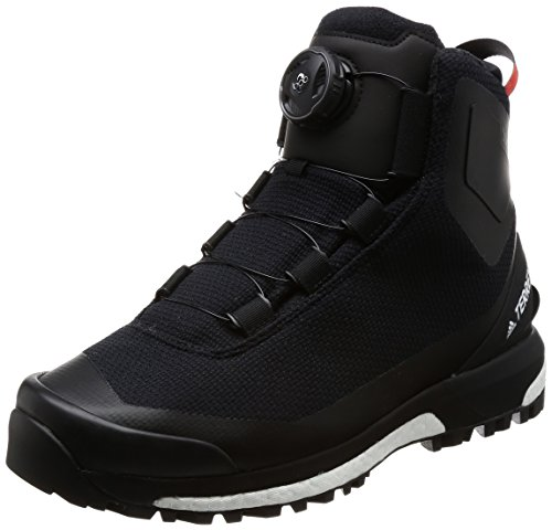 adidas Terrex Conrax Boa Ch CP, Chaussures de Randonnée Hautes Homme, Multicolore Noir Blanc Orange Negbas Ftwbla Energi, 42 2/3 EU