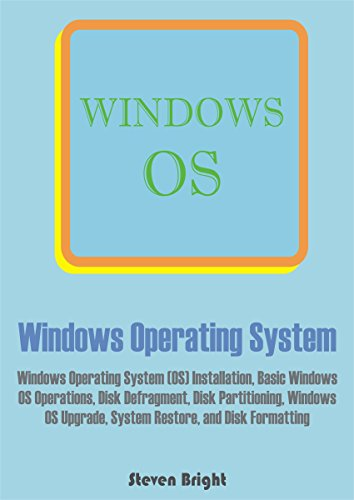 Windows Operating System: Windows Operating System (OS) Installation, Basic Windows OS Operations, Disk Defragment, Disk Partitioning, Windows OS Upgrade, System Restore, and Disk Formatting