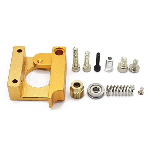 Gaetooely 3D Printer MK8 1.75mm Remote Extruder Kit All-metal Frame For Makerbot Reprap right hand