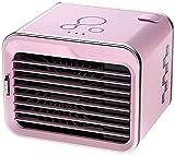 WSZYBAY Aire acondicionado Ventilador Aire acondicionado Portátil Ventilador, espacio personal Pequeñas refrigerantes evaporativas, refrigerador de aire de la interfaz USB, 3 velocidades Ventilador de