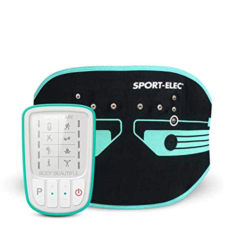 Sport-Elec MAXIBELT 2 M Body Beautiful Electrostimulateur Adulte Unisexe, Vert Noir, Unique