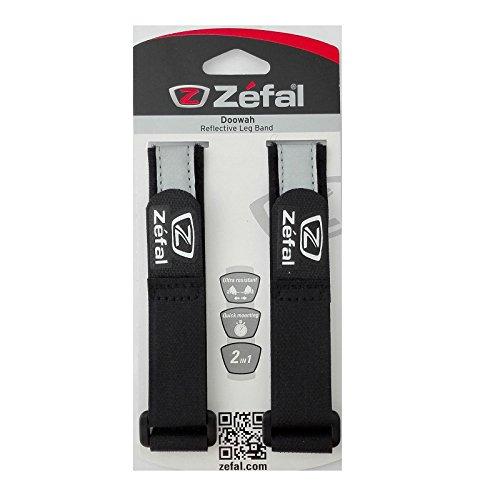 2x Sujetapantalon con Reflectantes Original ZEFAL para no ensuciarse Pantalon con Cadena de Bicicleta 6238