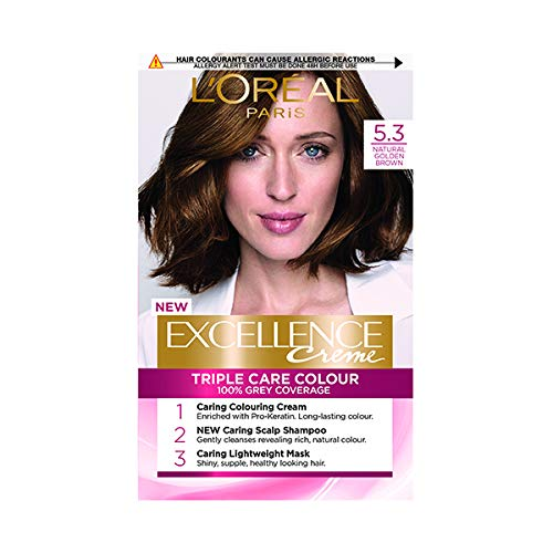 L'Oreal Excellence Golden Brown 5.3