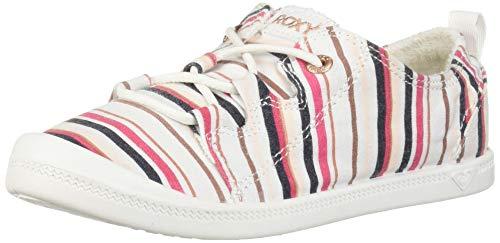 Roxy Mädchen RG Briana Slip On Sneaker Shoe Turnschuh, Bunt gestreift