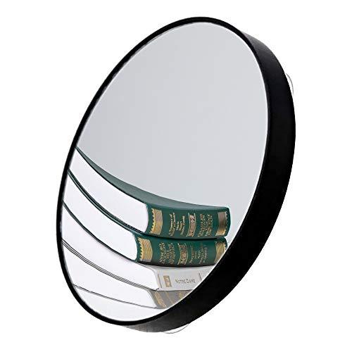 FYSL 1PCS 10X Miroirs Grossissant,Miroir de maquillage avec ventouses pour le maquillage, le rasage,l'élimination des points noirs / imperfections (noir)