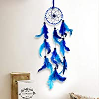 PRODUCT FEATURES: Dream catcher originated in the 18th century, Indians use it to capture beautiful dreams, let the nightmare disappear with the morning sun, they believe that the night air is full of dreams, only the dream catcher will Dream filteri...