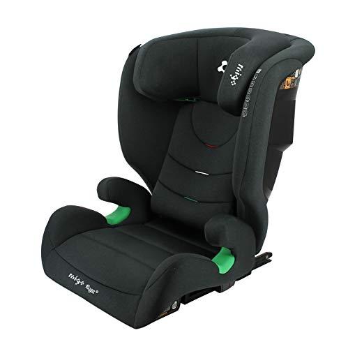 Silla de auto RAGA ISIZE 100-150 cm asiento elevador con respaldo y protección lateral reforzada