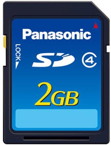 Panasonic Proof 4 RP-SDNA02GEK 2GB SDHC Speicherkarte schwarz