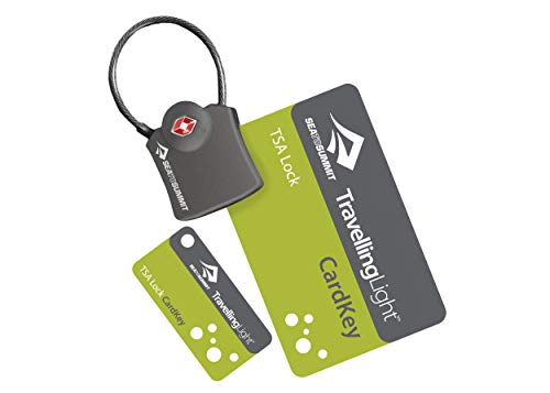 Sea to Summit Cardkey Verrou TSA-Noir