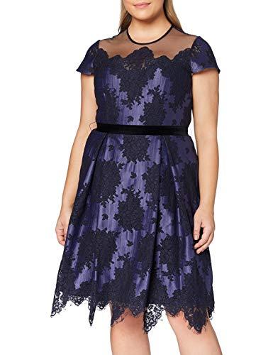 Gina Bacconi Women's Wendi Lace Dress Vestido para Madre de la Novia,...