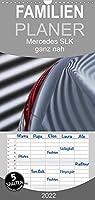 Mercedes SLK R171 - ganz nah - Familienplaner hoch (Wandkalender 2022 , 21 cm x 45 cm, hoch): Faszinierende Detailansichten des Mercedes SLK, Baureihe R171 (Monatskalender, 14 Seiten )