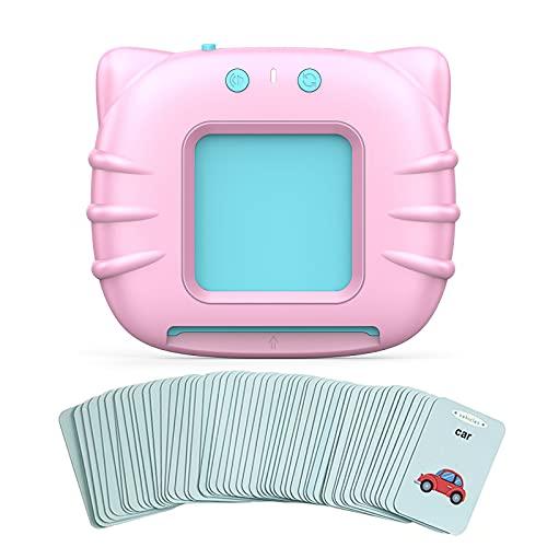Staright Tipo de Cartão de Iluminação Inglesa Máquina de Educação Infantil Brinquedos de aprendizagem para crianças Brinquedos eletrônicos de aprendizagem adequados para creche Pré-escolar Jardim de infância