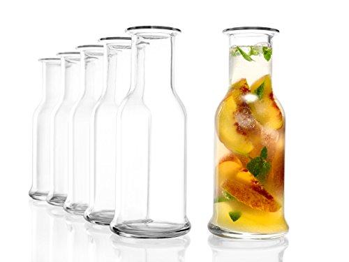 Stölzle Oberglas Purity Karaffe 0,5 l - Wasserkaraffe, Karaffe, Saftkrug, Zeitlose, Moderne Optik, 2 Stück, spülmaschinenfest, hochwertige Qualität