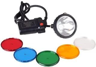 Kohree Waterproof IP65 CREE XML U2 10W LED 800 Lumens 2-Mode Hunting Light Headlamp 6600mAh Mining Headlight Lamp for Hog, Coon, Coyote, Fox Hunting