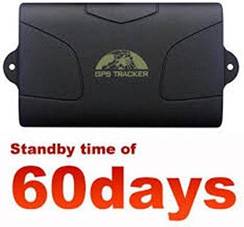 Mondocommercio GPS Tracker TK-104 Localizzatore Satellitare Allarme ANTIFURTO Auto MONITORAGGIO In Tempo Reale Per Auto, Moto, Imbarcazioni