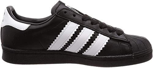 Adidas Superstar 80s, Zapatillas de Deporte Hombre, Negro (Negbás/Ftwbla/Negbás 000), 39 1/3 EU