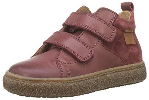 Naturino Mädchen Alder Vl Hohe Sneaker, Rot (Bruciato 0d03), 28 EU