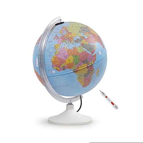 Parlamondo I: Interaktiver Globus mit Audio-Stift und Ladekabel: Interaktiver Globus mit TING(TM)-Stift (Interaktiver Globus mit Hörstift)
