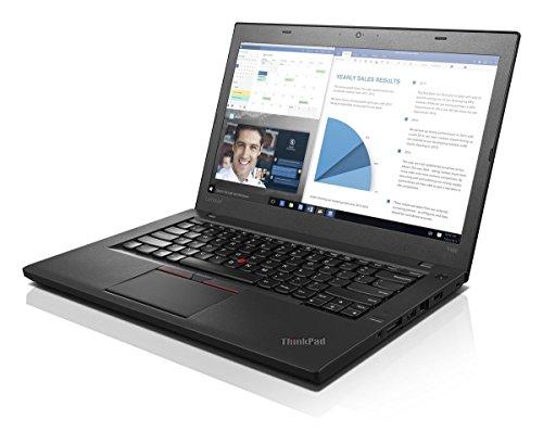 Lenovo ThinkPad T460 i5-6200 2.3GHz 8GB RAM, 256GB SSD DVDRW 14.1' 1920 x 1080 (Full HD) LCD Webcam Windows 10 Pro 64 bit WiFi (Renewed)