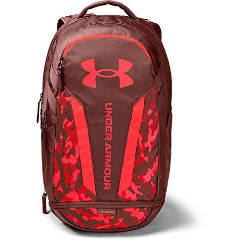 Under Armour Hustle 5.0, mochila para portátil unisex, Rojo (Cinna Red / Beta / Beta), Taglia unica