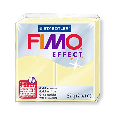 Fimo Effect Polymer Clay 2oz-Vanilla