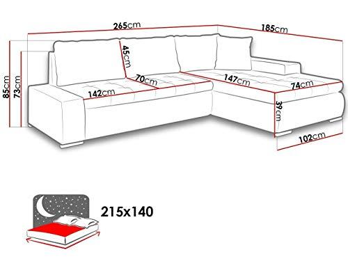Ecksofa günstig: Mirjan24 Elegante Sofa Orkan Mini Bild 6*