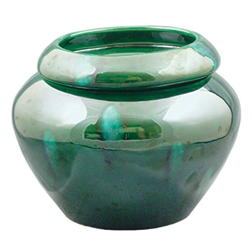 TVP Pottery Green 4' Urn Shaped Self Watering Planter