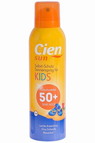 Cien® Sun Kids LSF 50+ 150ml Sonnenspray - Extra hoher Sonnenschutz für Kinder