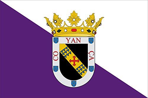 magFlags Bandera Large Valencia de Don Juan | Bandera Paisaje | 1.35m² | 90x150cm
