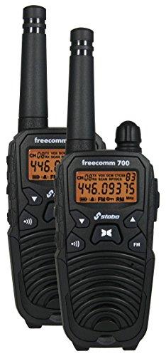 Stabo Elektronik Freecomm 700 PMR-Funksysteme schwarz