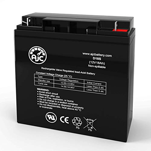 Best Buy! EV Rider Stand N Ride SNR 2 12V 18Ah Wheelchair Battery - This is an AJC Brand Replacement